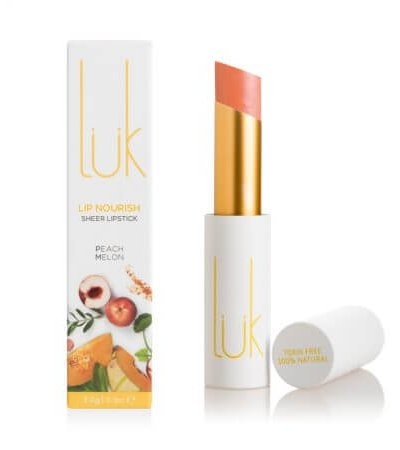 LUK BEAUTIFOOD LIP NOURISH – PEACH MELON