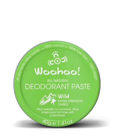 WOOHOO! DEODORANT PASTE – WILD – EXTRA STRENGTH