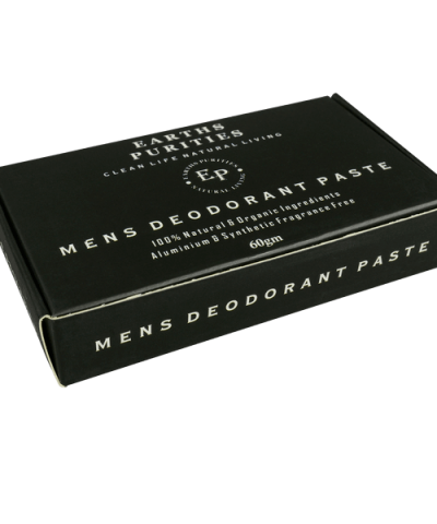 EARTHS PURITIES MENS NATURAL DEODORANT PASTE
