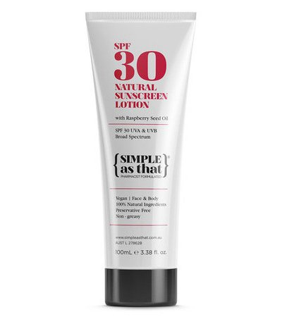 SIMPLE AS THAT SPF30 NATURAL SUNSCREEN LOTION