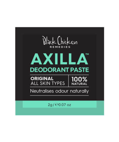 Black Chicken Remedies Axilla Natural Deodorant - Sample Sachet 2g