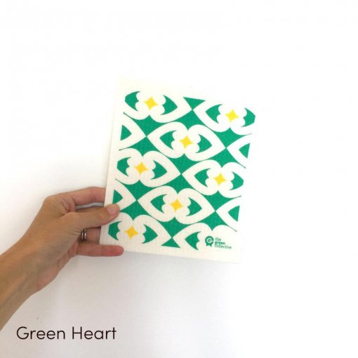 THE GREEN COLLECTIVE BIODEGRADABLE 'SPRUCE' DISH CLOTH