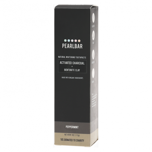 PEARLBAR CHARCOAL NATURAL WHITENING TOOTHPASTE