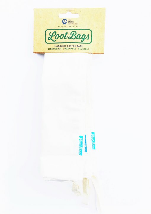 THE GREEN COLLECTIVE 'LOOT BAGS' 3 PACK