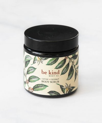 BE KIND BODY CO. COFFEE & COCONUT BODY SCRUB