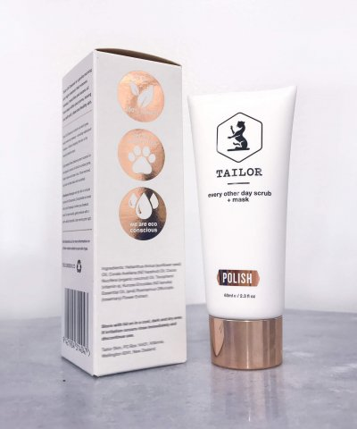 TAILOR SKINCARE POLISH – MASK & SCRUB