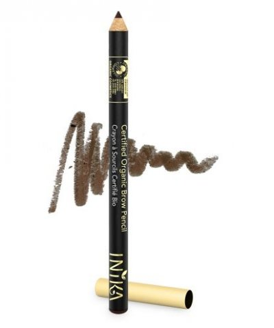 INIKA ORGANIC NATURAL EYEBROW PENCIL – DARK BRUNETTE