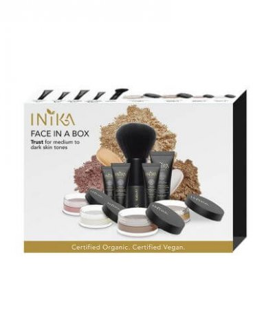 INIKA ORGANIC FACE IN A BOX – THE ESSENTIAL STARTER KIT (TRUST)