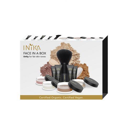 INIKA ORGANIC FACE IN A BOX – THE ESSENTIAL STARTER KIT (NURTURE)
