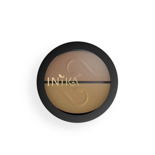 INIKA ORGANIC PRESSED MINERAL EYESHADOW DUOS – GOLD OYSTER