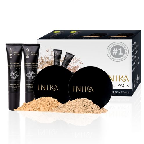 INIKA ORGANIC TRIAL PACK – MEDIUM / DARK
