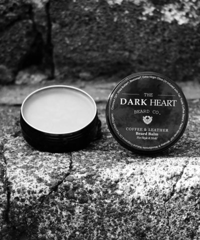 THE DARK HEART BEARD CO. – COFFEE & LEATHER BEARD BALM