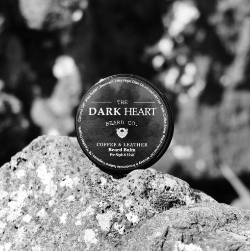 THE DARK HEART BEARD CO. – COFFEE & LEATHER BEARD BALM