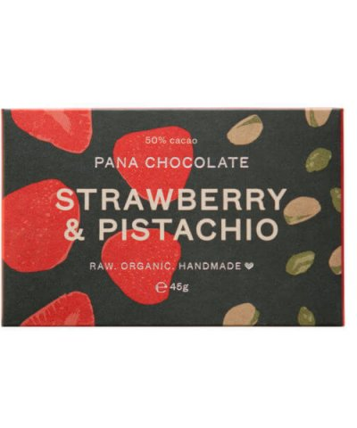 PANA CHOCOLATE – STRAWBERRY & PISTACHIO