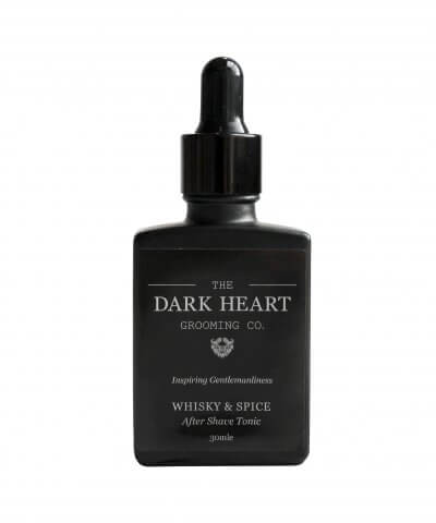 THE DARK HEART BEARD CO. – WHISKEY & SPICE AFTER SHAVE TONIC