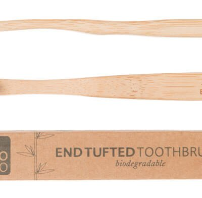 GO BAMBOO END TUFTED TOOTHBRUSH