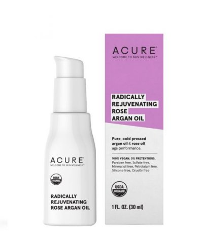 ACURE ORGANICS RADICALLY REJUVENATING ROSE ARGAN OIL