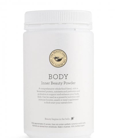 THE BEAUTY CHEF – BODY INNER BEAUTY POWDER VANILLA