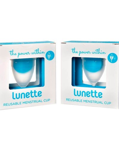 LUNETTE MENSTRUAL CUP – CLEAR