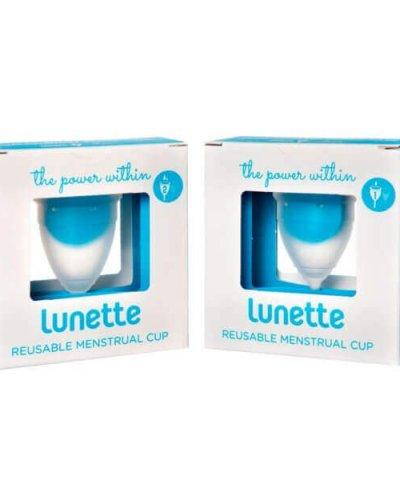 LUNETTE MENSTRUAL CUP – AQUA BLUE