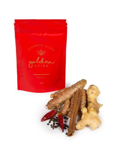 GOLDEN GRIND TURMERIC BLEND – CHILLI