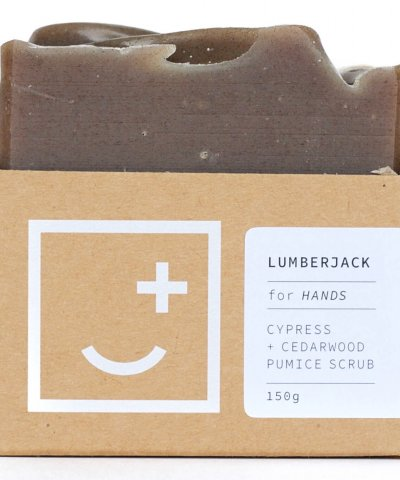 FAIR + SQUARE SOAPERY – LUMBERJACK HAND + BODY WASH