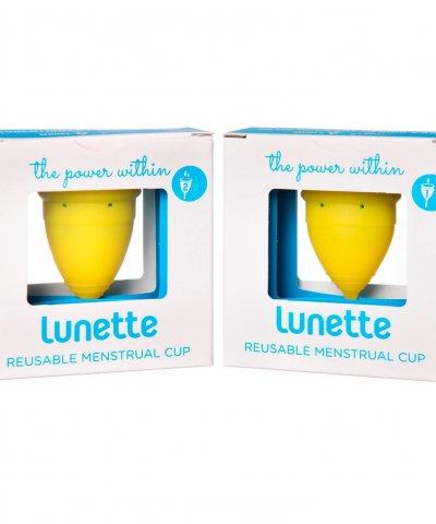 LUNETTE MENSTRUAL CUP – LEMON
