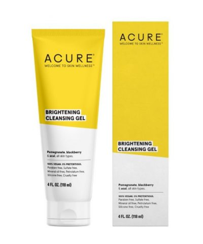 ACURE ORGANICS BRIGHTENING CLEANSING GEL