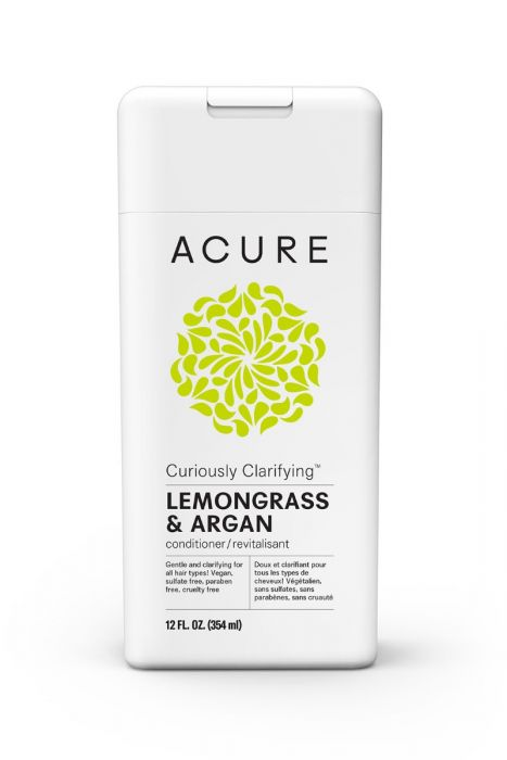 ACURE ORGANICS CURIOUSLY CLARIFYING CONDITIONER – WITH LEMONGRASS & ARGAN