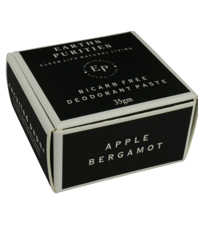 EARTHS PURITIES BICARB FREE DEODORANT PASTE APPLE BERGAMOT