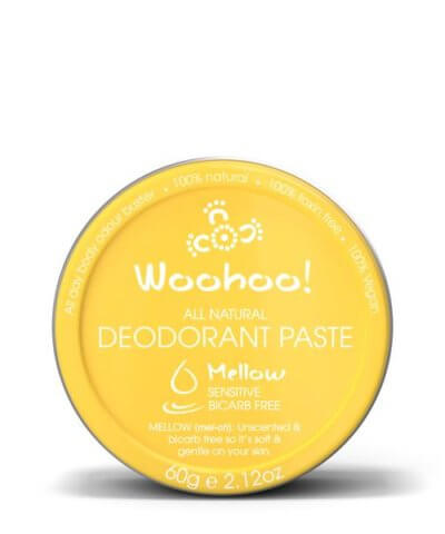 Woohoo Mellow Deodorant Paste 60g Tin