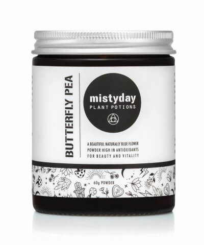 Misty Day Plant Potions Butterfly Peal Flower