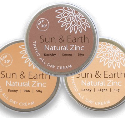 SUN & EARTH NATURAL TINTED ZINC