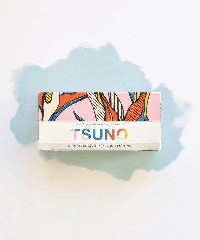 TSUNO ORGANIC TAMPONS *50% TO CHARITY*