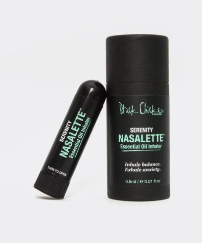 BLACK CHICKEN REMEDIES NASALETTE ESSENTIAL OIL INHALER SERENITY – SOOTHING & CALMING
