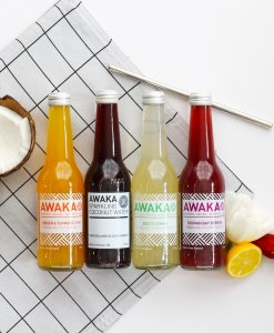 AWAKA Sparkling Cocont Water