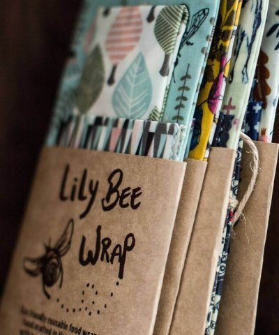 LILYBEE REUSABLE FOOD WRAP – 3 PACK