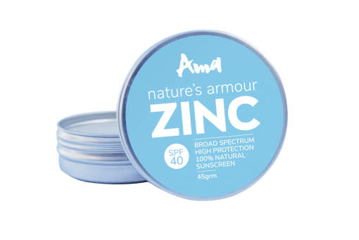 Ama - Nature's Armour Zinc Oxide SPF40 Broad Spectrum High Protection Sunscreen