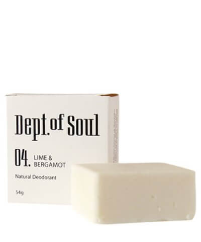 DEPT. OF SOUL DEODORANT – NO. 04 (LIME & BERGAMOT)