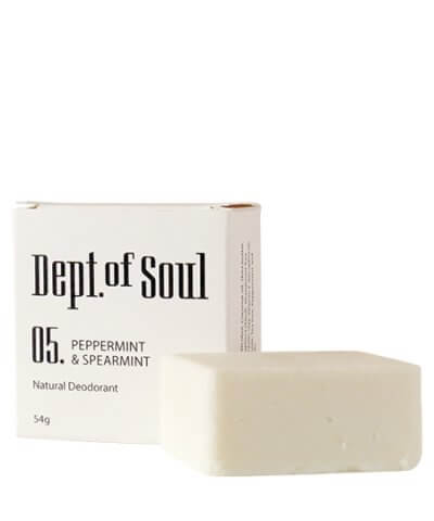 DEPT. OF SOUL DEODORANT – NO. 05 (PEPPERMINT & SPEARMINT)