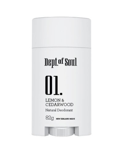 DEPT. OF SOUL DEODORANT – NO. 01 (LEMON & CEDARWOOD)