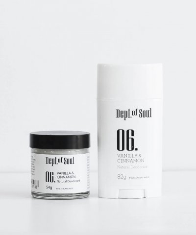 DEPT. OF SOUL DEODORANT – NO. 06 (VANILLA & CINNAMON)