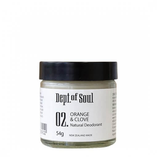 DEPT. OF SOUL DEODORANT – NO. 02 (ORANGE & CLOVE)
