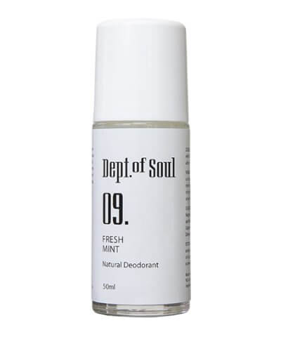 DEPT. OF SOUL ROLL ON DEODORANT – NO. 09 (FRESH MINT)