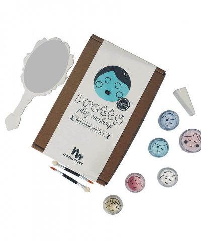 NO NASTIES 'NIA' *DELUXE* PRETTY PLAY MAKEUP (TURQUOISE)