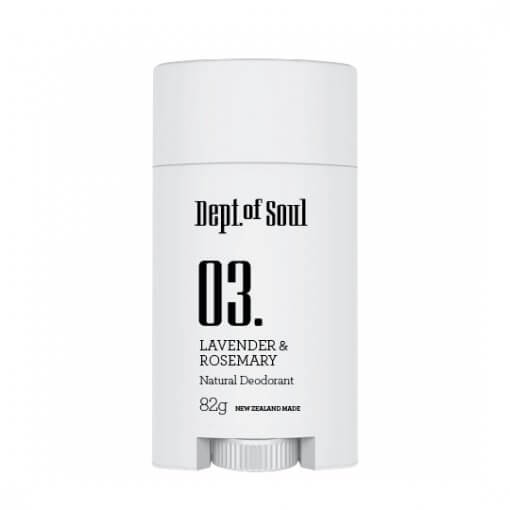 DEPT. OF SOUL DEODORANT – NO. 03 (LAVENDER & ROSEMARY)