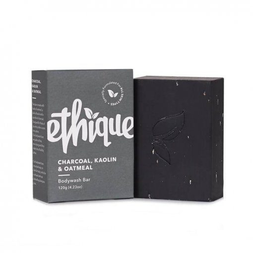 ETHIQUE CHARCOAL, KAOLIN & OATMEAL BODYWASH BAR
