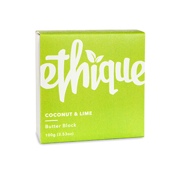 ETHIQUE COCONUT & LIME BUTTER BLOCK BODY LOTION