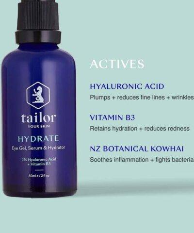 Tailor Skincare - Hydrate Skin & Eye Serum