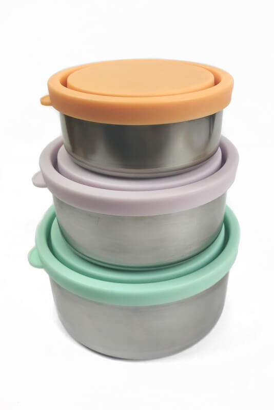 Ever Eco Stainless Steel Nesting Containers Oh Natural